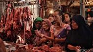 Di Pasar Ini Harga Daging Sapi Masih Tinggi di Atas Rp 120.000/Kg