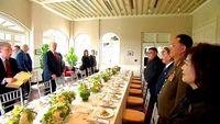 Iga Sapi dan Ikan Codfish Jadi Menu Makan Siang Trump dan Kim