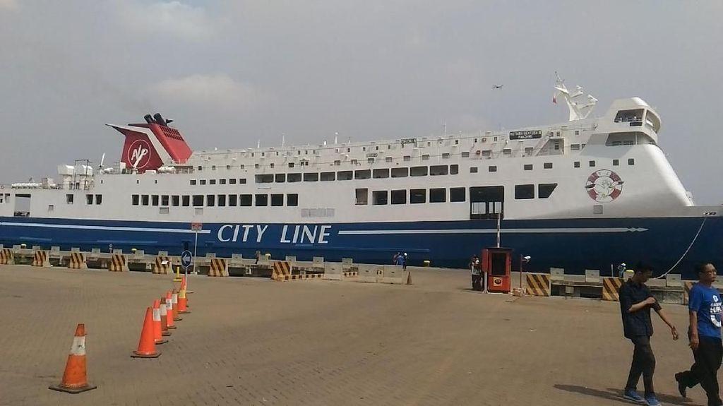 Dear Pemudik... Kapal Ro-Ro Tujuan Lampung Masih Kosong Nih