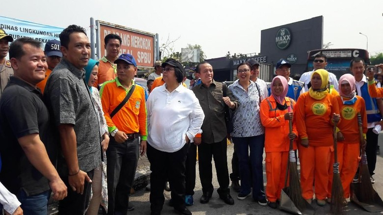 Menteri LHK Imbau Pemudik Tak Buang Sampah Sembarangan