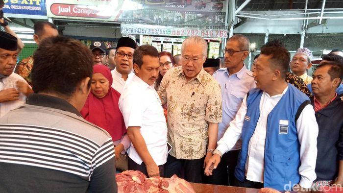 Menteri Perdagangan Blusukan di Makassar/Foto: Ibnu Munsir