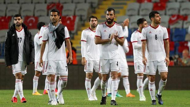 Timnas Iran memiliki kekuatan yang nyaris seimbang dengan Maroko. (
