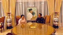 Lebaran ke Rumah Mega, Jokowi Disajikan Soto dan Opor Ayam
