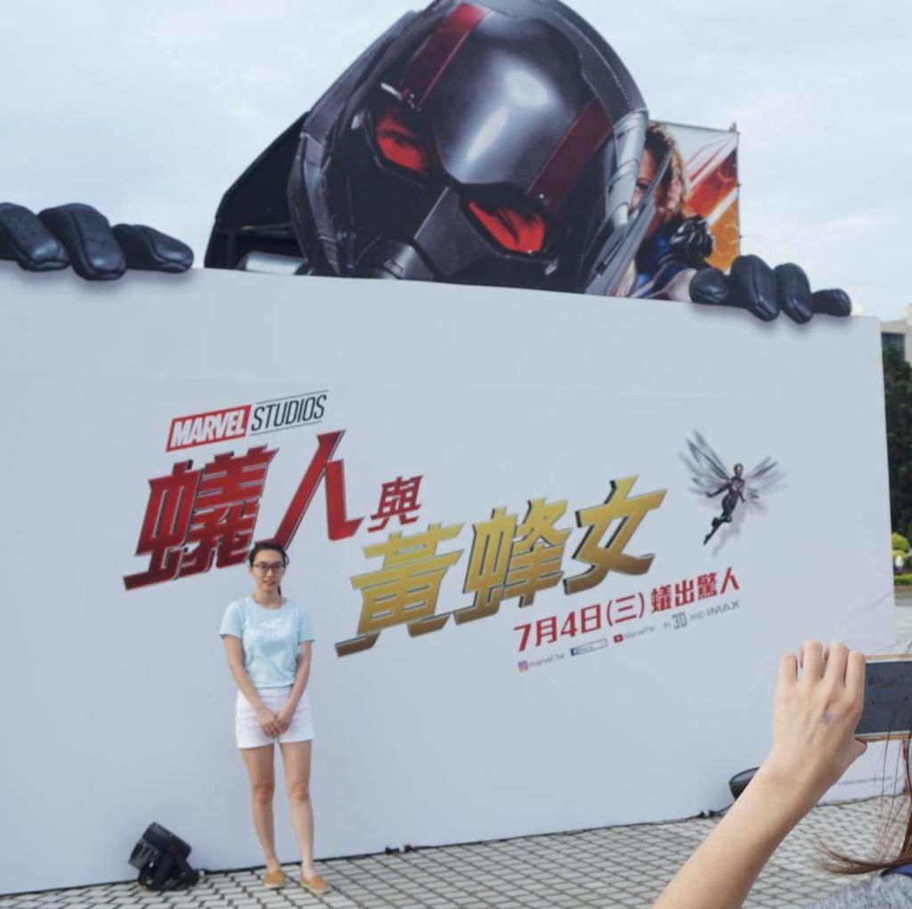 Antusiasme Fans Taipei di Premiere Ant-Man and The Wasp