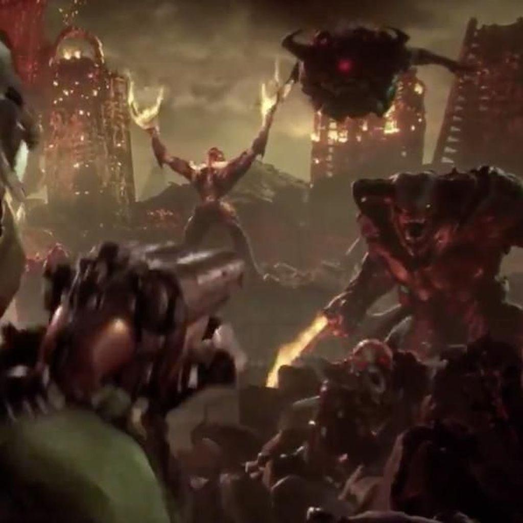 Doom Eternal Lanjutkan Perjuangan Doomguy Basmi Iblis
