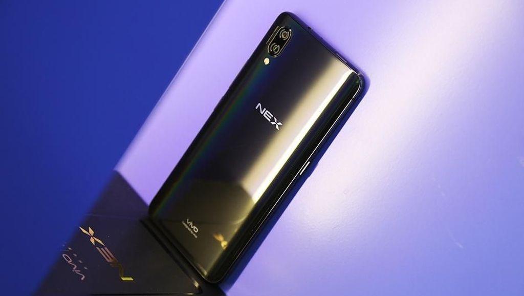 Penampakan Ponsel Vivo NEX yang Menawan