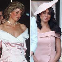 Meghan Markle dan Putri Diana.