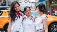 Gracia Indri tengah berlibur ke AS bersama sang ibu dan Gisella Cindy , sang adik. Foto: Instagram Gracia Indri