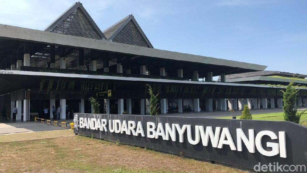 Harga Tiket Pesawat Turun, Okupansi di Bandara Banyuwangi Belum Naik