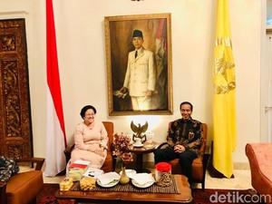 Jokowi Silaturahmi ke Rumah Megawati Sebelum Mudik ke Solo
