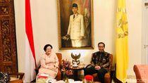 Bertemu di Batu Tulis, Mega Beri Masukan soal Cawapres ke Jokowi