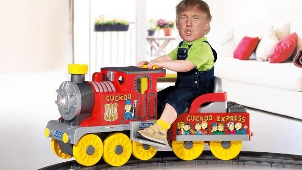 Kocak! Ketika Presiden Trump Jadi Korban Photoshop