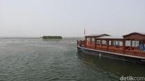 Laut Ajaib di Tengah Gurun Pasir China
