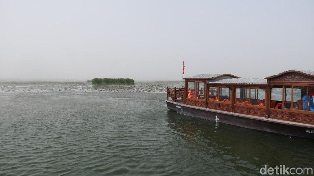 Foto: Beginilah Danau Paling Luas di China