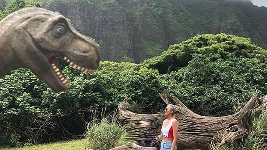 Berkunjung ke Jurassic Park Bersama Kimmy Jayanti
