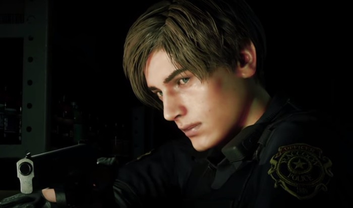 Screenshot trailer Resident Evil 2 Remake.