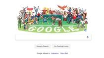 Google Doodle Ramaikan Persiapan Piala Dunia 2018