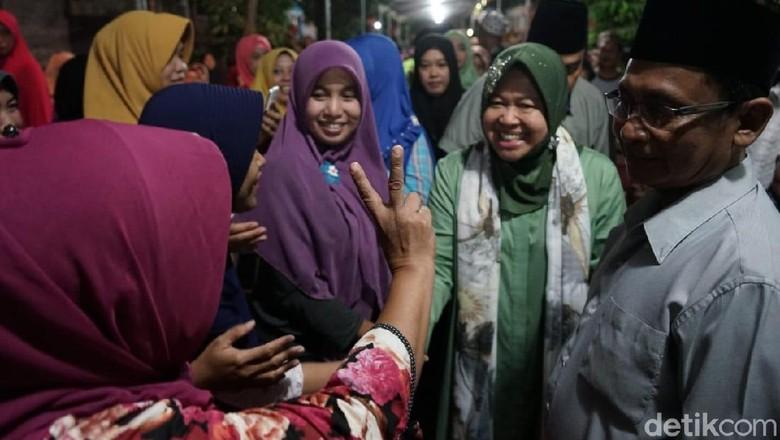 Risma: Gus Ipul-Puti akan Adopsi Program Bagus Milik Surabaya