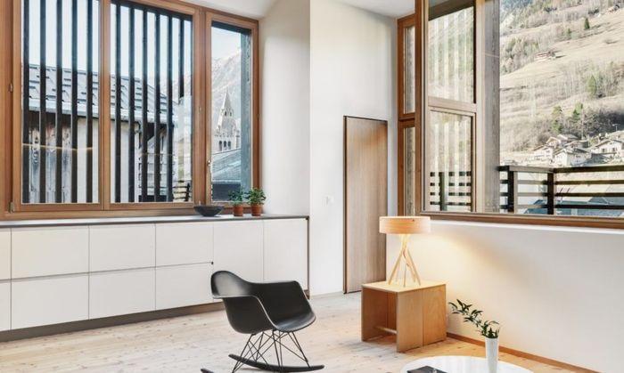 Proyek renovasi dan perluasan lumbung ini digagas oleh keluarga beranggota lima orang yang mencari tempat tinggal yang modern dan dipenuhi cahaya. Istimewa/Lucy Wang/Inhabitat.