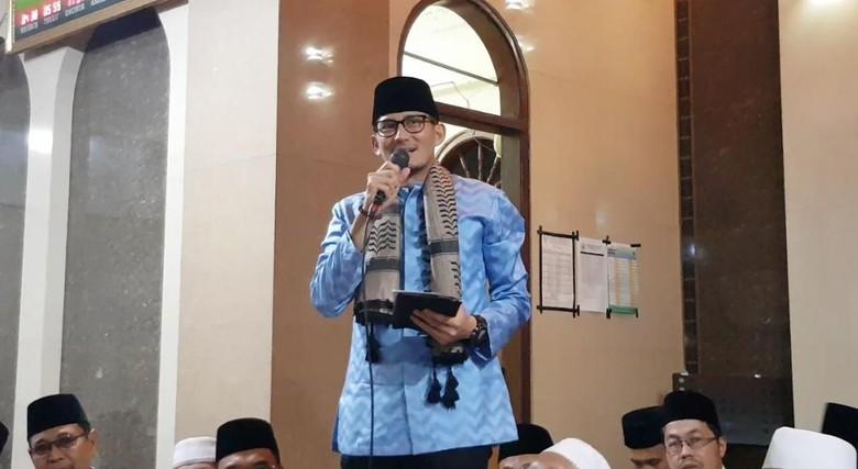 Tanpa Dirinya, Sandi Ungkap 3 Kandidat Cawapres Prabowo