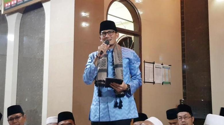 Cegah Radikalisme di Masjid, Sandi: Pengurus Harus Ubah Mindset