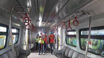 Cek Kesiapan Jelang Sertifikasi, Sandiaga Tinjau Proyek LRT