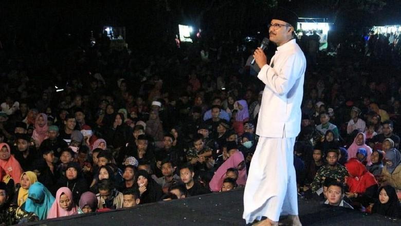 Akhir Ramadan, Gus Ipul Selawatan Bersama Ribuan Warga Magetan
