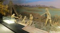 Peradaban kuno di Lop Nur yang berusia 10 ribu tahun. (Fitraya/detikTravel)