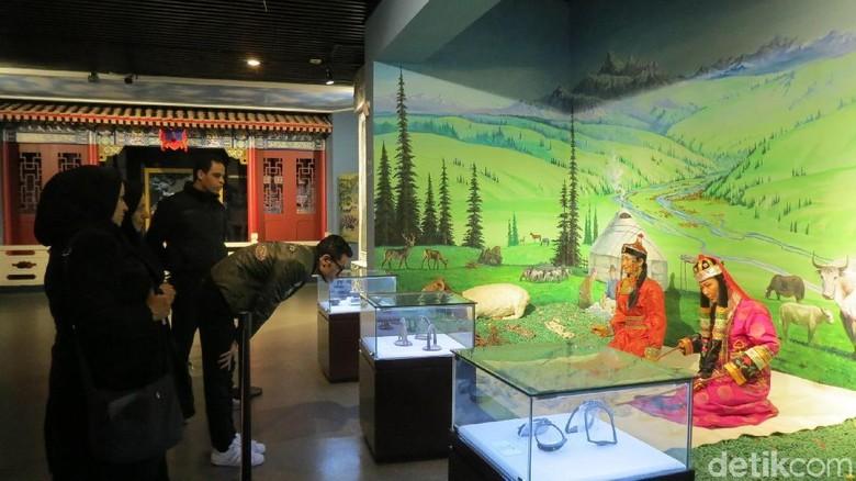 Foto: Museum Mongol di Korla, Xinjiang, China (Fitraya Ramadhanny/detikTravel)