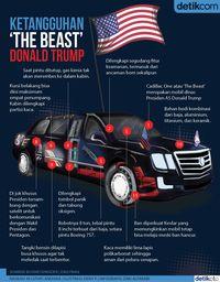 Di Balik Rp 21,2 Miliar Mobil Donald Trump