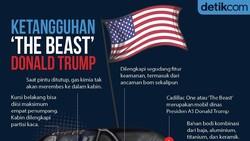 Intip Lagi Pengawal Donald Trump di KTT G20