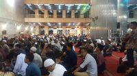 Suasana takbiran di Masjid Istiqlal