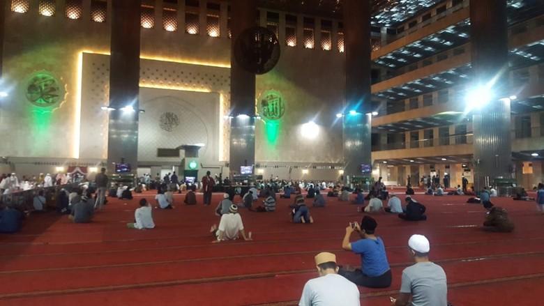 Bakal Jadi Lokasi Salat Id JK, Begini Persiapan Masjid Istiqlal