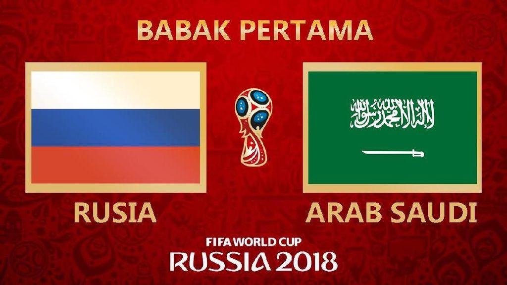 Highlight Babak I Rusia Vs Arab Saudi