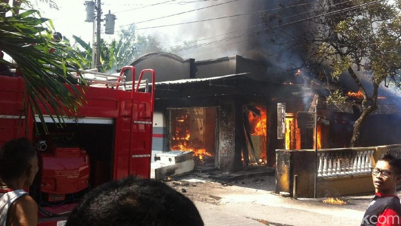 SPBU Mini di Kudus Meledak dan Terbakar, 1 Orang Terluka