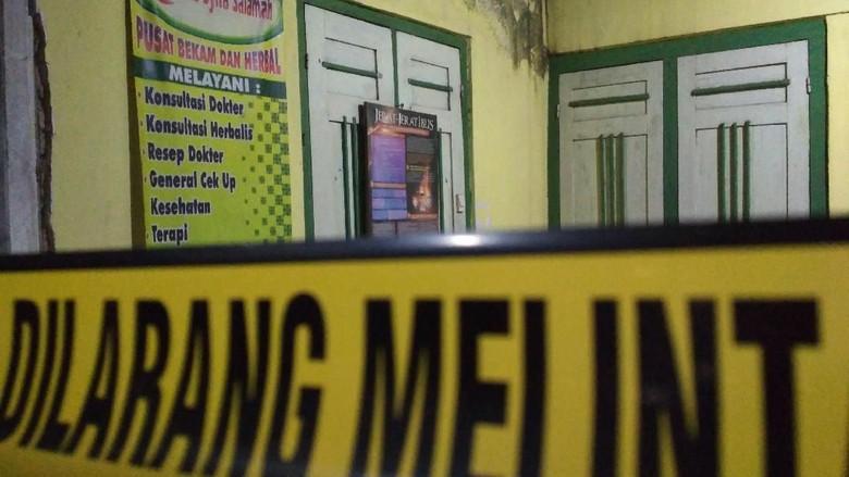 Densus Temukan Bukti Terkubur di Dekat Kontrakan Terduga Teror Blitar