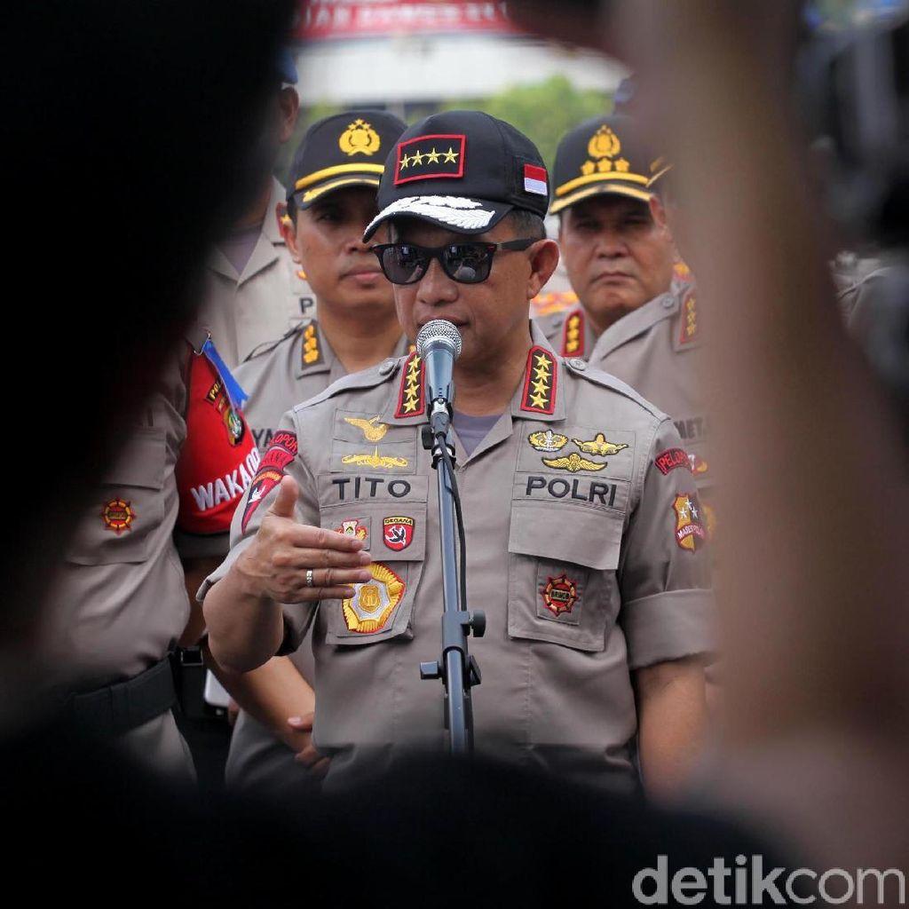 Kapolri: Hampir 50 Terduga Teroris Ditangkap di Jakarta