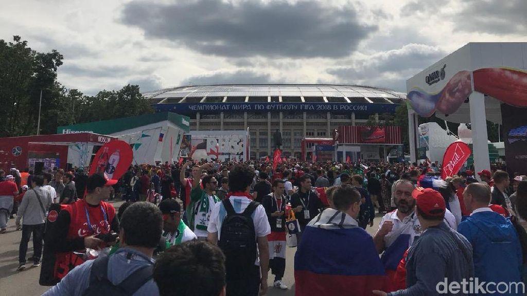 Merah dan Hijau Luzhniki Sambut Kickoff Piala Dunia 2018