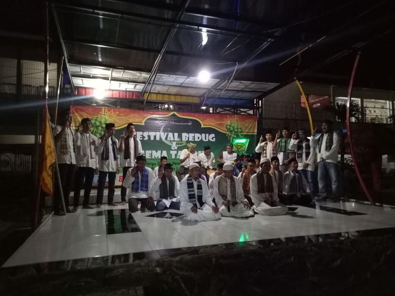 Antusiasnya Para Tahanan Ikut Festival Bedug di Rutan Makassar