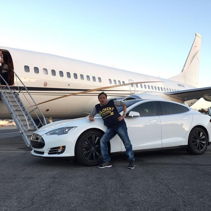 Pelawak Doyok dikabarkan hidup bergelimang harta di Amerika Serikat. (Foto: Instagram/doyok178)