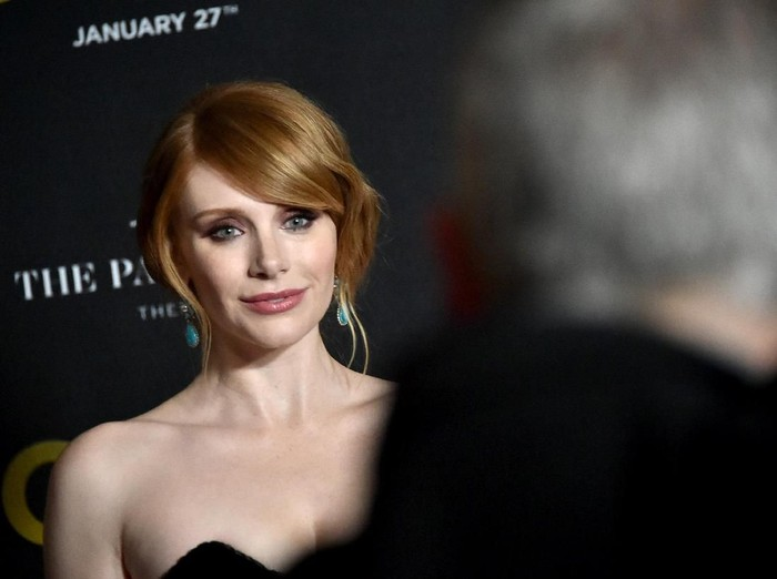 NEW YORK, NY - JANUARY 17:  Actress Bryce Dallas Howard attends The World Premiere of