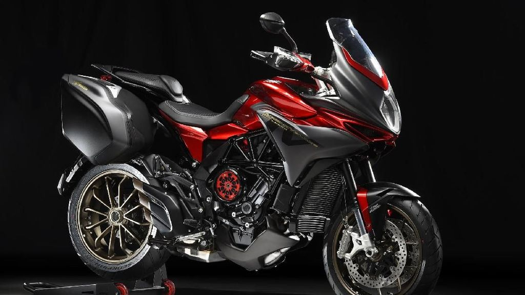 MV Agusta Pamer New Semi-Automatic Clutch pada Motor Touringnya