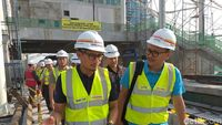 Sandi Pastikan LRT Jakarta Beroperasi Sebelum Asian Games