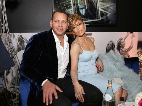 Jennifer Lopez dan Alex Rodriguez di sebuah acara beberapa waktu lalu.