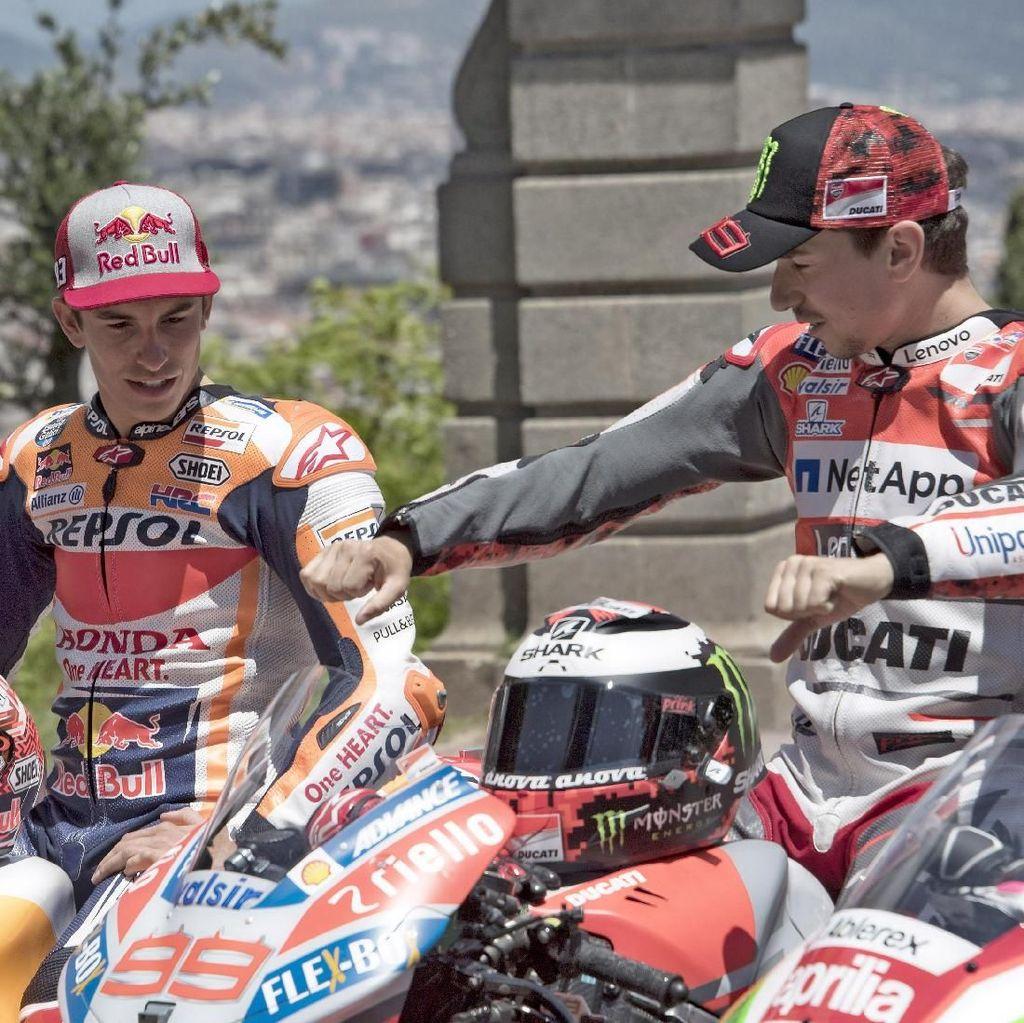 Ini Kata Marquez soal Kepindahan Lorenzo ke Honda