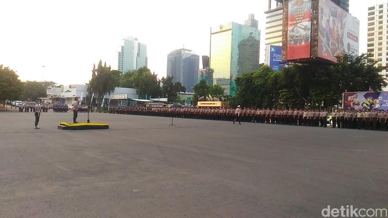 Polda Metro Apel Pengamanan Malam Takbiran dan Salat Idul Fitri