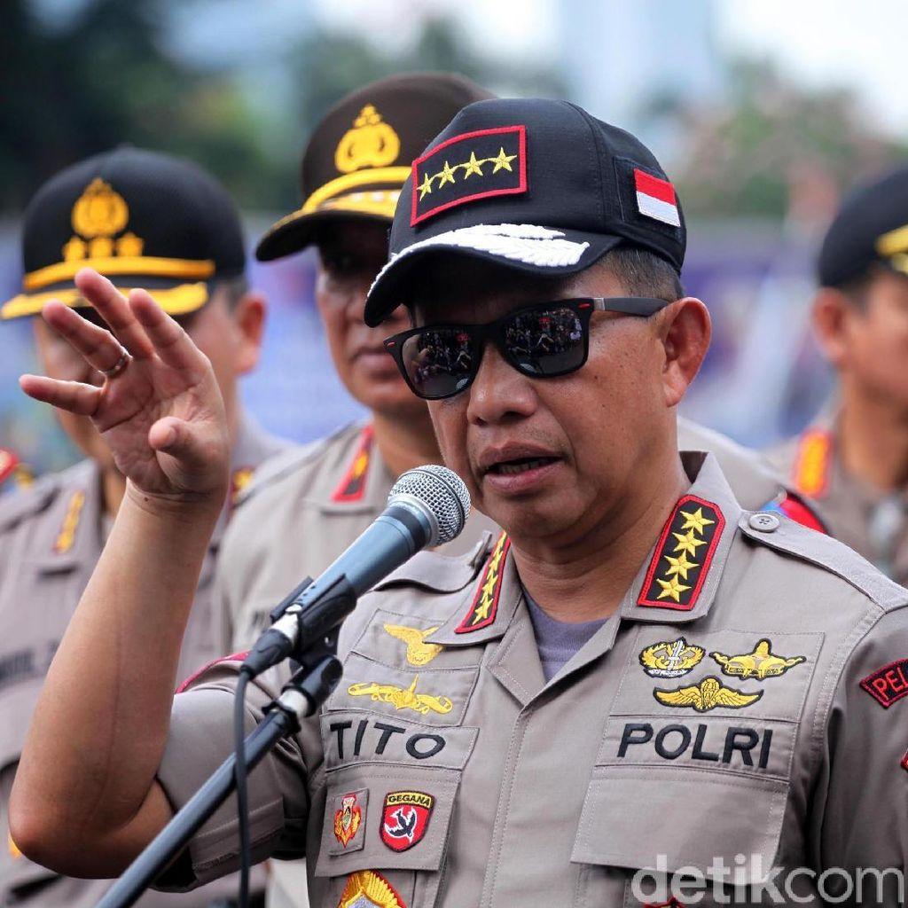 Polri Ambil Diskresi Cegah Demo di Pelantikan Jokowi