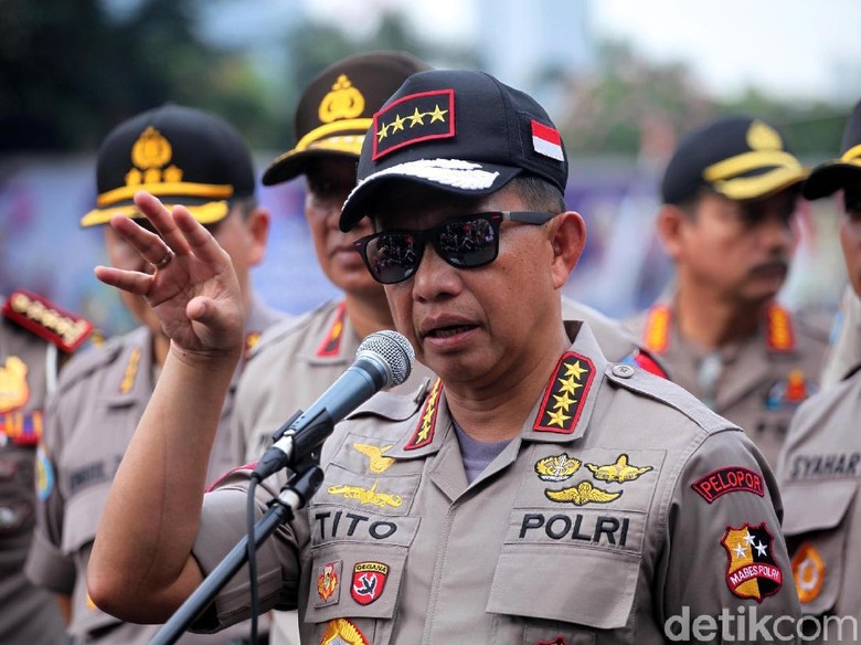 Di Depan Jokowi, Kapolri Pamer Kepercayaan Publik Naik Jadi 82,9%