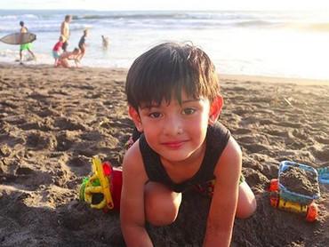 King Faaz saat ini usianya 6 tahun, Bun. (Foto: Instagram/ @fairuzarafiq)