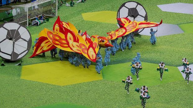 Stadion Luzhniki akan menggelar laga pembuka dan enam pertandigan lain termasuk partai final Piala Dunia 2018.